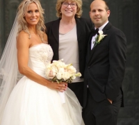 Pittsburgh Wedding Officiant with Couple